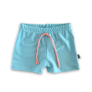 Azure Blue Sun Trunks