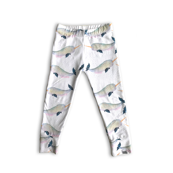Limited Edition Slim Leggings in Arctic Narwhal
