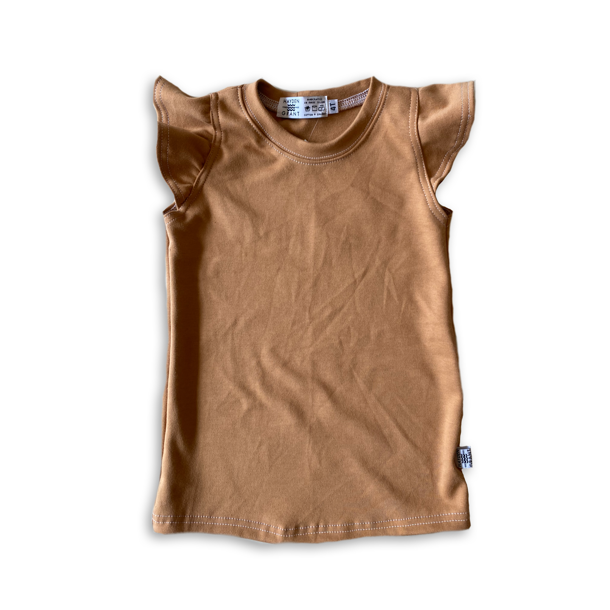 Flutter Tank in Toasted Wheat