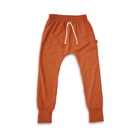 Essential drawstring Joggers in Persimmon