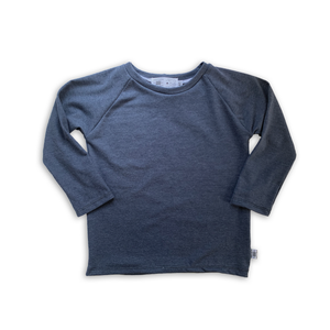 Handcrafted Raglan in Narwhal (choose of sleeve length)