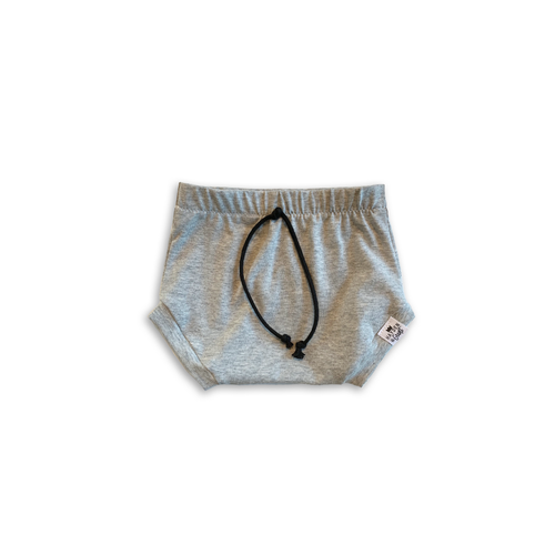 Gray Bummies or Harem Shorts for Baby Toddler and Kids