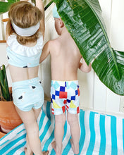 Load image into Gallery viewer, Seagull High Waist Ruffle Bikini-Baby, Toddler & Kids