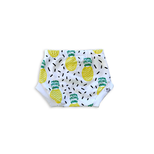 Pineapple Bummies or Harem Shorts for Baby Toddler and Kids