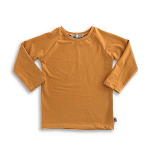Handcrafted Raglan in Butternut (choose of sleeve length)