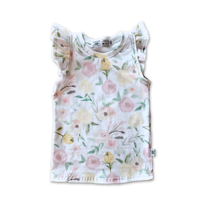Limited Edition Flutter Tank in Fresh Blooms