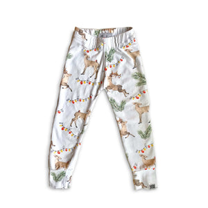 Limited Edition Joggers in Vintage Reindeer