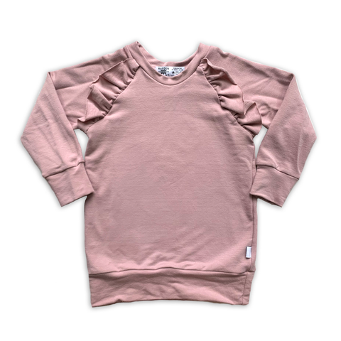 Flutter Sweatshirt in Sugarplum