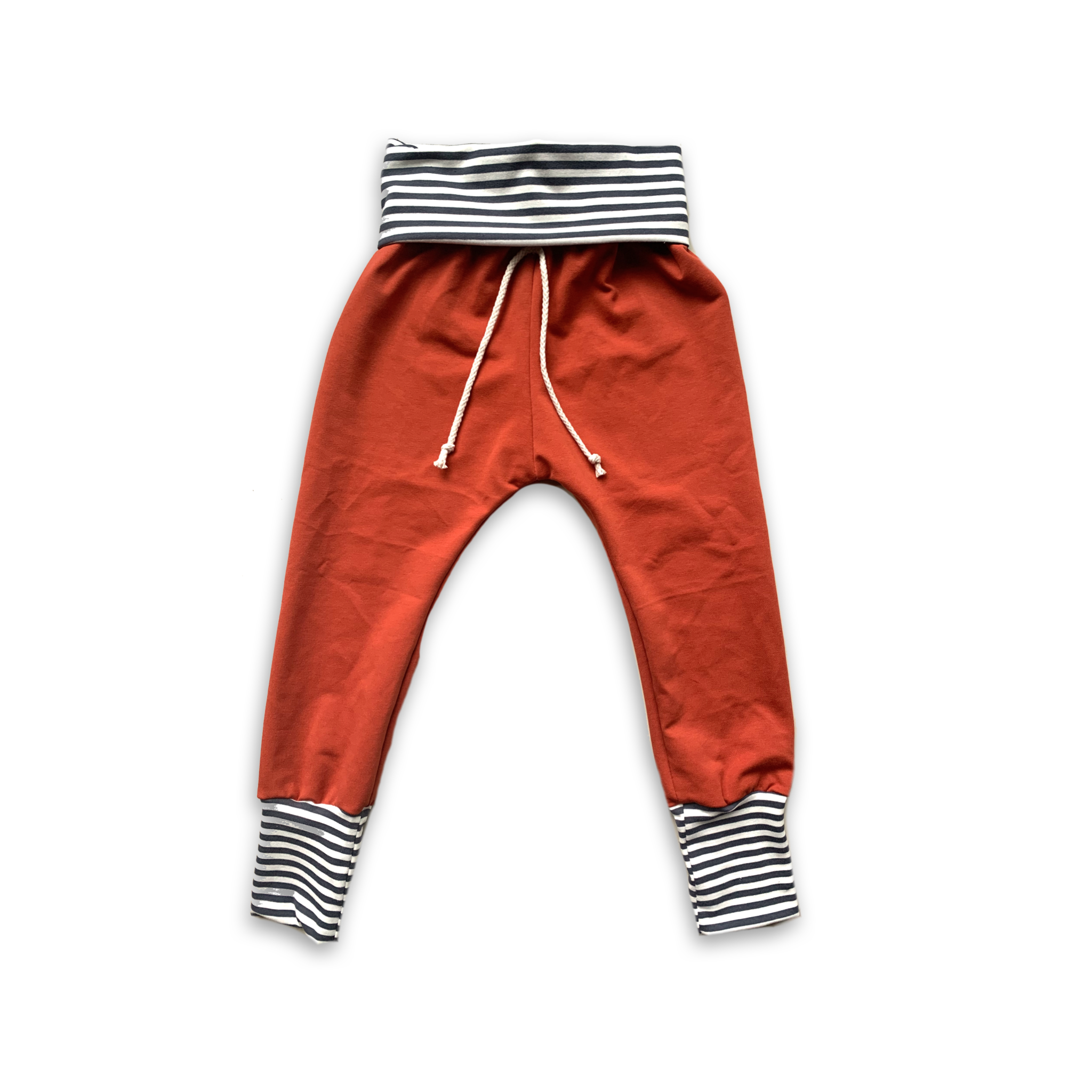Infinity Cuff Joggers in Persimmon