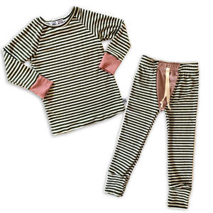 Heirloom Pajamas in Pine Stripe