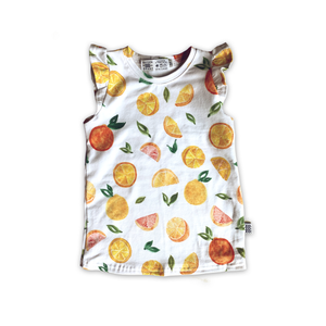 Limited Edition Flutter Tank in Citrus