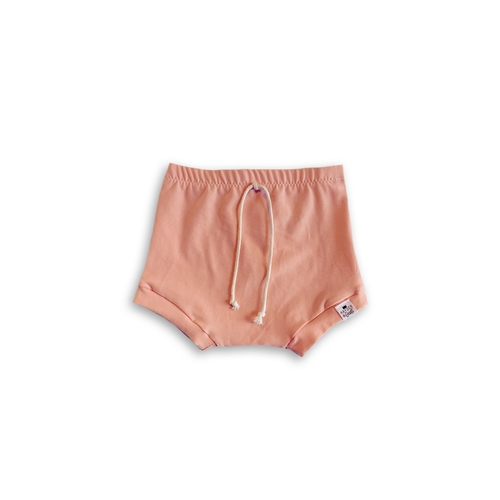 Cantaloupe (Peach) Bummies or Harem Shorts for Baby Toddler & Kids