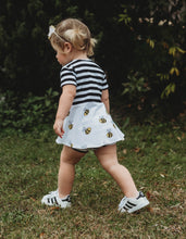 Load image into Gallery viewer, Bees Knees Peplum Top for Baby Toddler and Kids