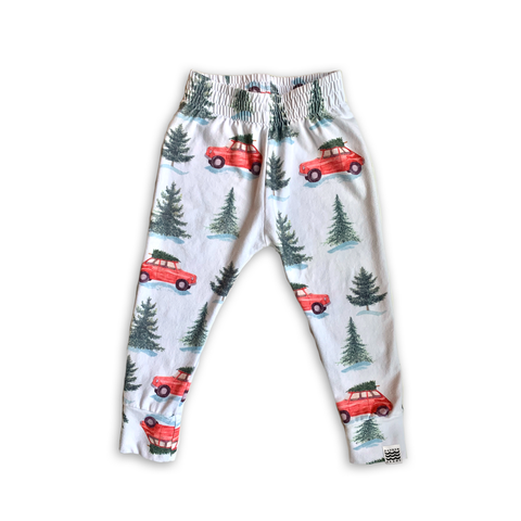 Limited Edition Joggers in Christmas Cars