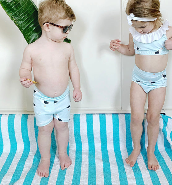 Seagull Euro Swim Shorts- Baby Toddler Kids