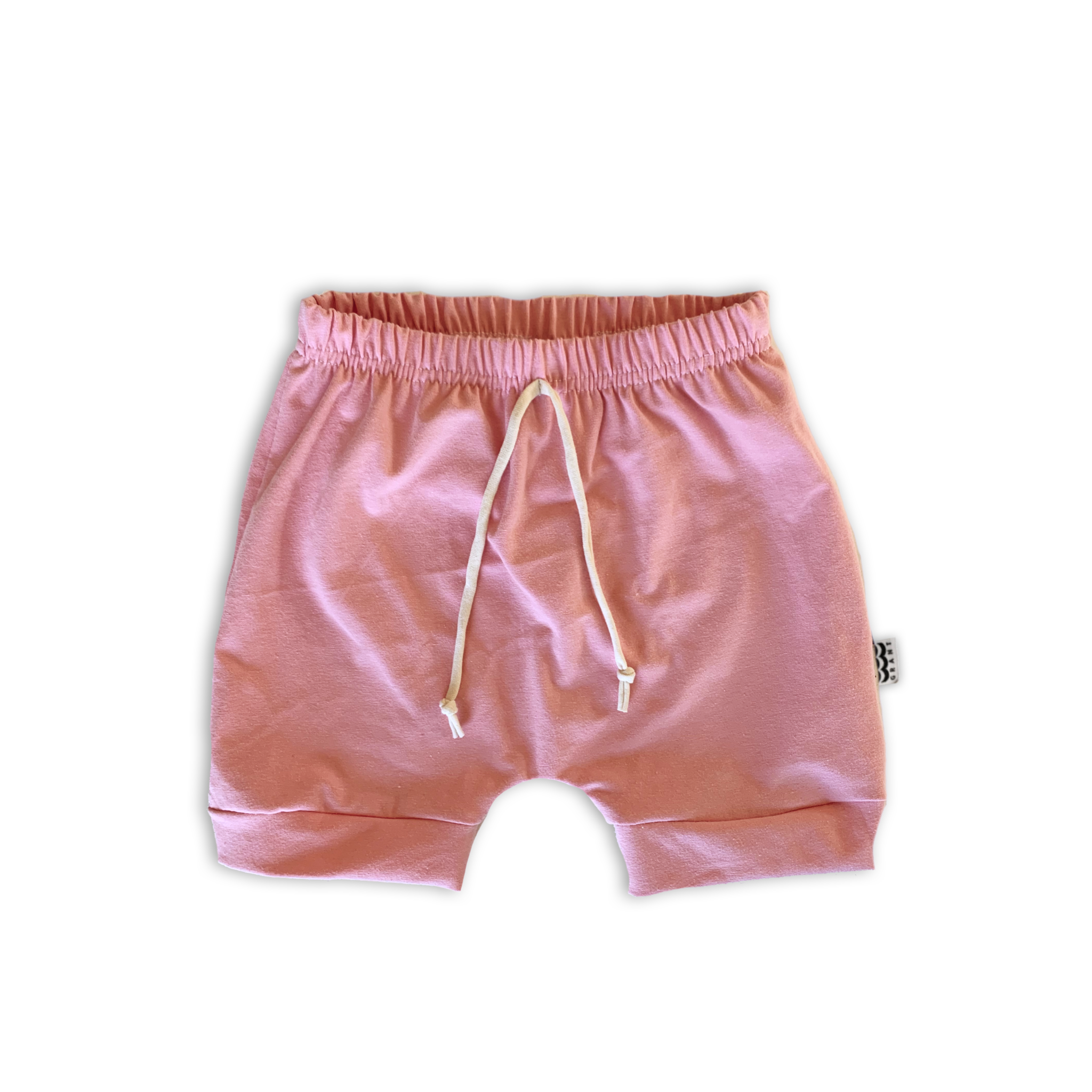Crew Shorts in Solid Petal