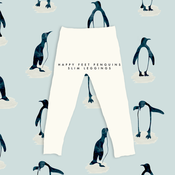 Limited Edition Slim Leggings in Happy Feet Penguin