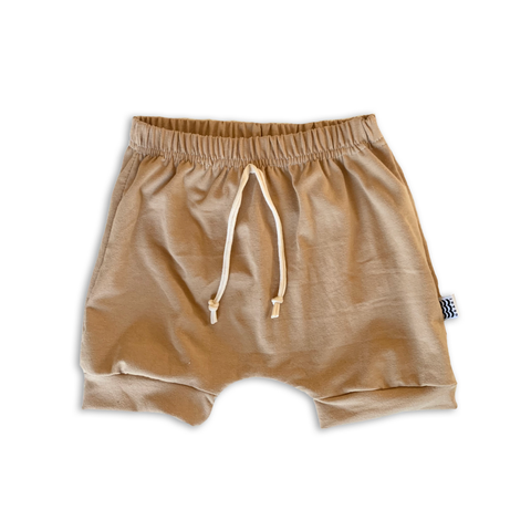 Crew Shorts in Toasted Wheat