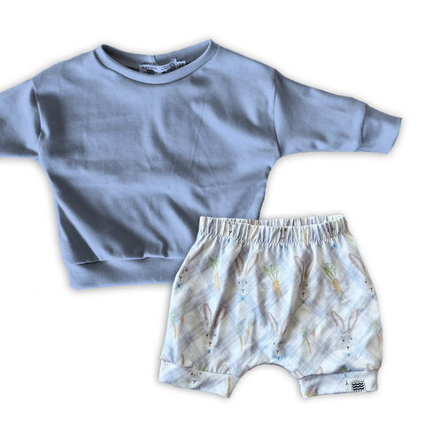 Limited Edition Set- Dolman + Crew Shorts