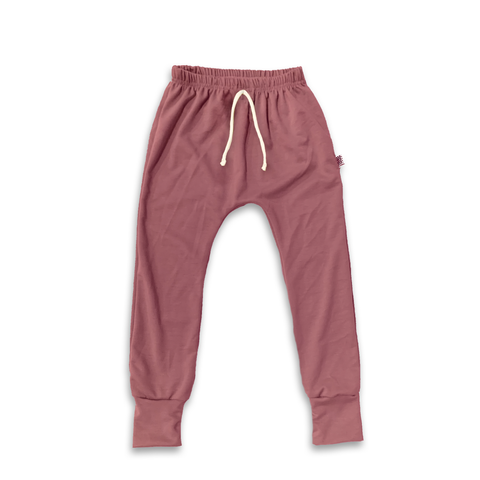 Essential drawstring Joggers in Crushed Coral