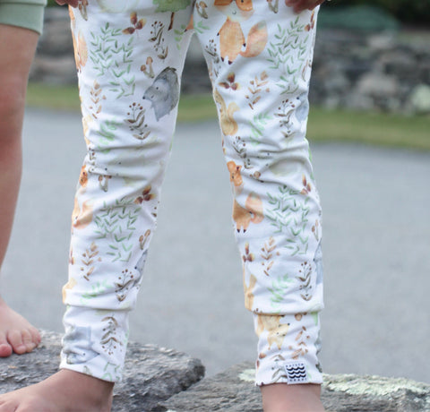 Limited Edition Slim Leggings in Wild Things