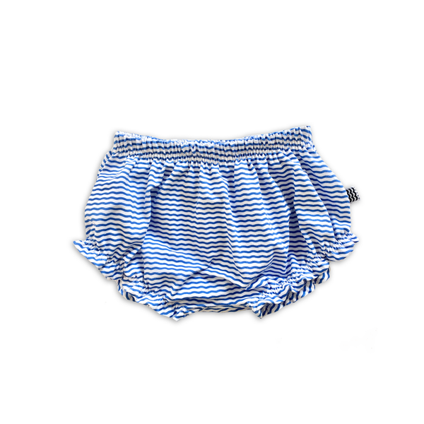 Ruffle Bummies in Wayfinder Stripe