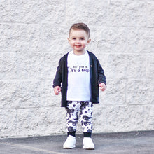 Load image into Gallery viewer, Don't Grow Up-Baby Shirt- Black or White Graphic Tee