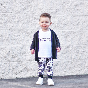 Don't Grow Up-Baby Shirt- Black or White Graphic Tee