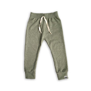 Green Tea French Terry Jogging Sweatpants