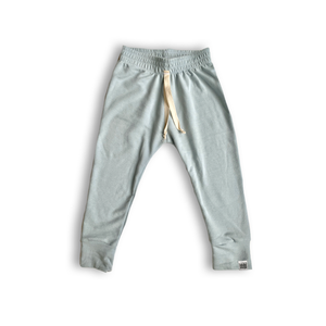 Essential French Terry Drawstring Joggers in Glacier