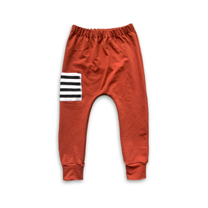 Sidecar Pocket Joggers Persimmon