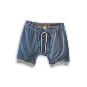 Heirloom Pajama Bottoms in Orca (choice of shorts or pants)