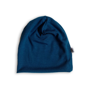 Slouchy Beanie in Narwhal