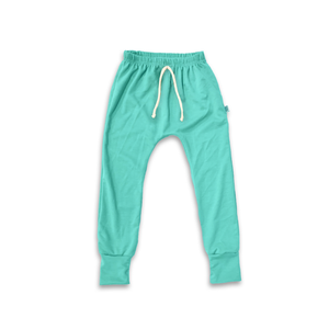 Essential drawstring Joggers in Lagoon