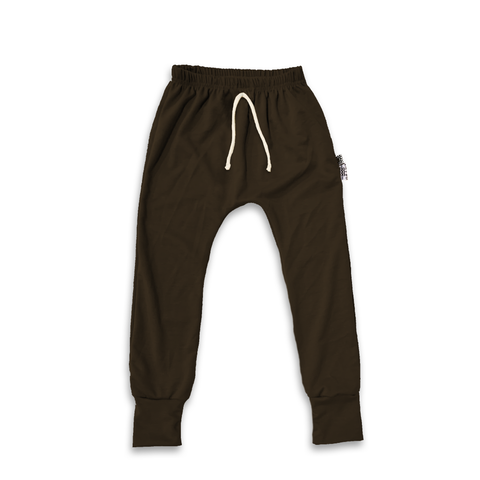 Essential drawstring Joggers in Onyx Black