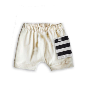 Sidecar Pocket Crew Shorts in Oat