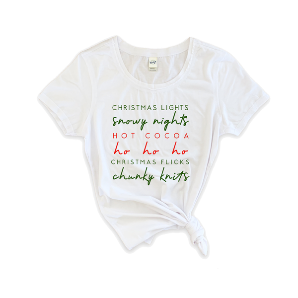 "Women's ""Christmas Thoughts"" Tee"