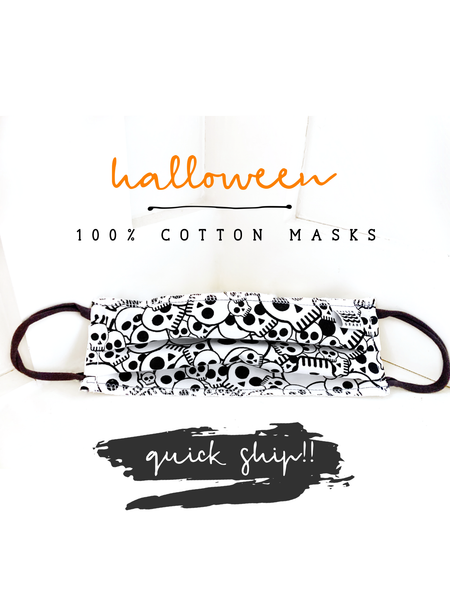Adult & Children's Halloween Premium Comfort Face Mask