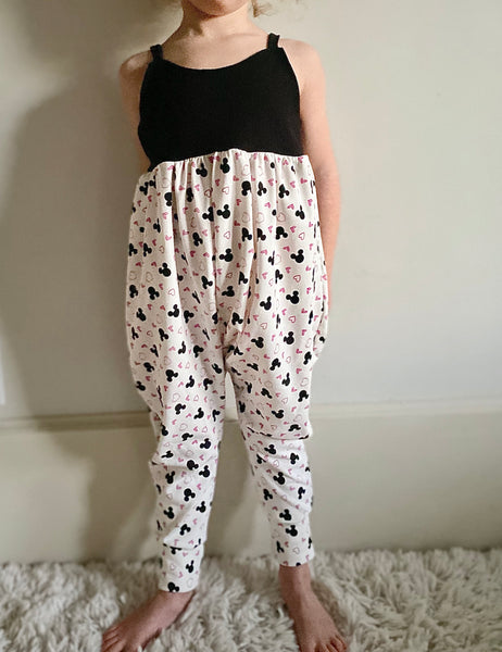 Limited Edition Pants Bubble Romper in Love Minnie