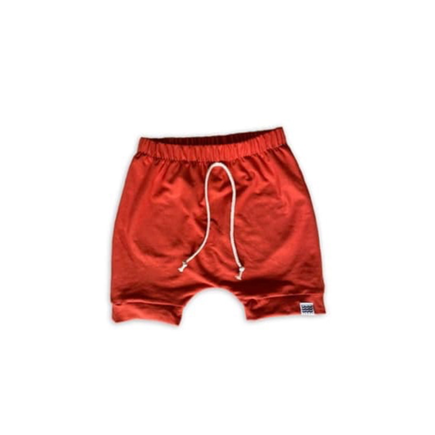 Boy's Crew Shorts in Persimmon