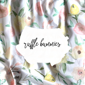 Ruffle Bummies in Fresh Blooms