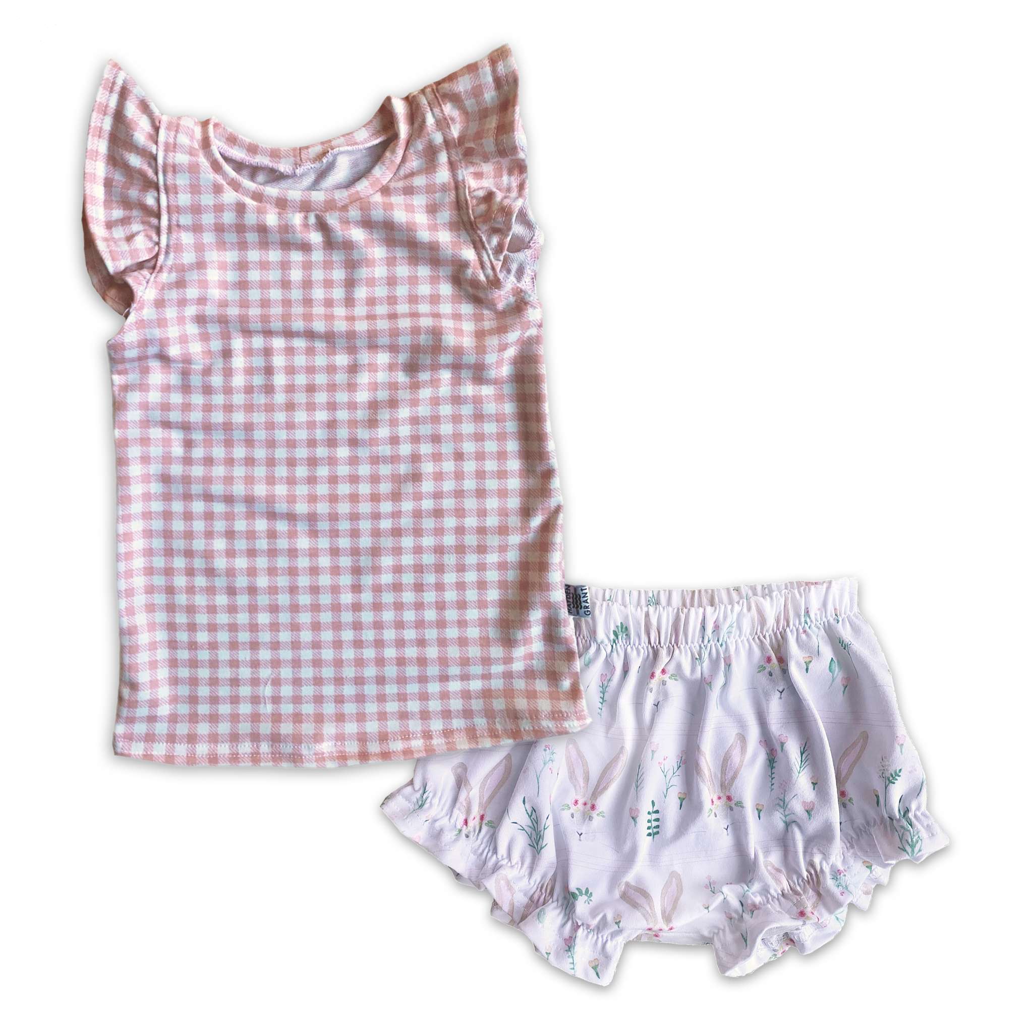 Limited Edition Set- Flutter Tank + Ruffle Shorts
