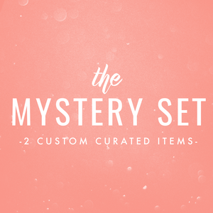 Mystery set (2 custom curated items)