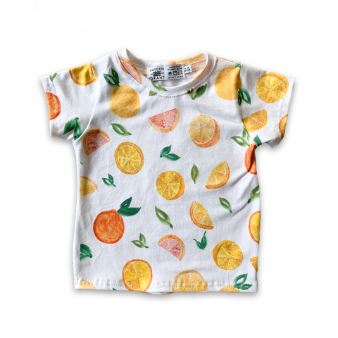 Limited Edition Classic Tee in Citrus