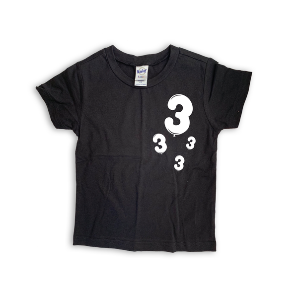 "Baby + Youth ""Birthday Balloon"" Tee (choice of color)"