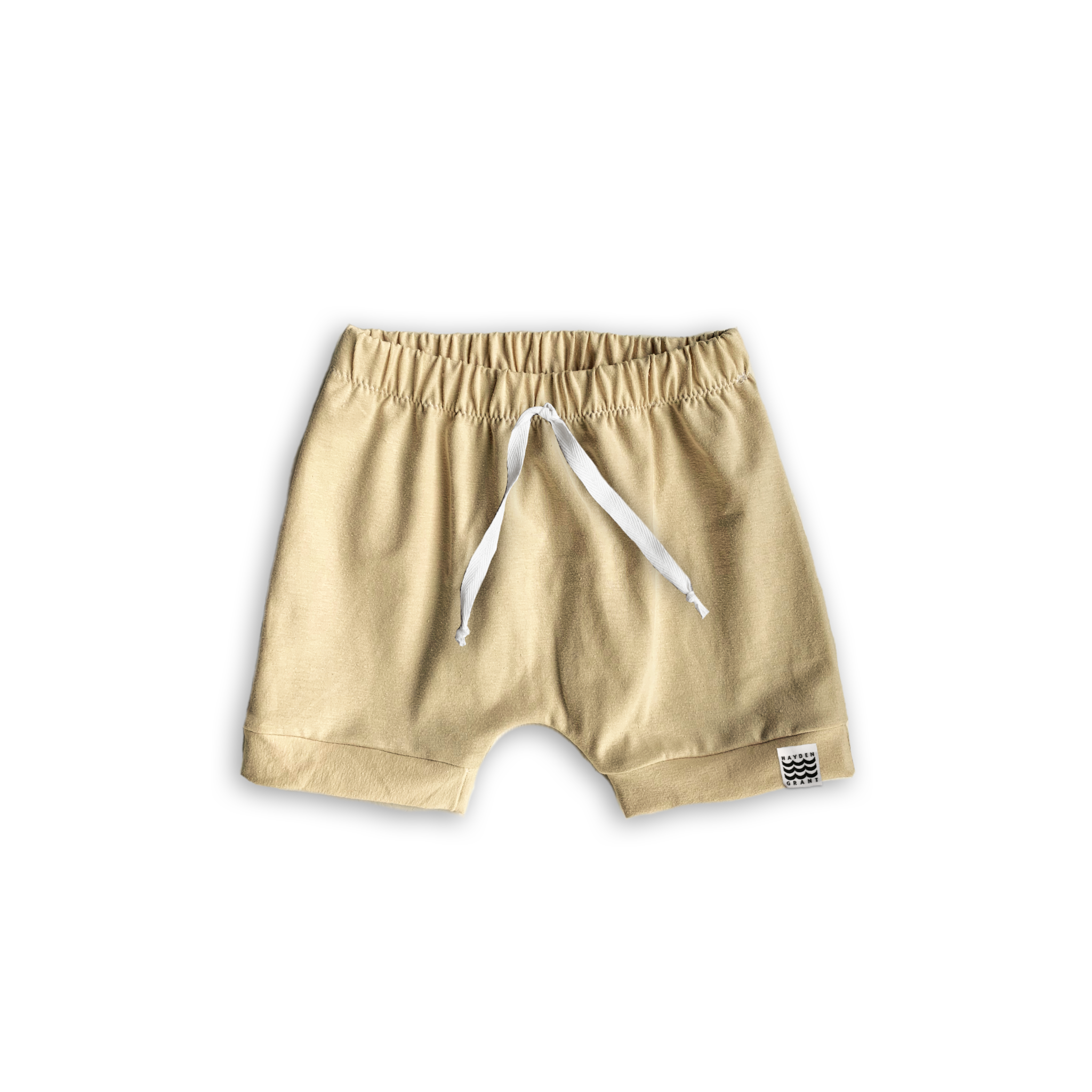 Boy's Crew Shorts in Solid Goldenrod