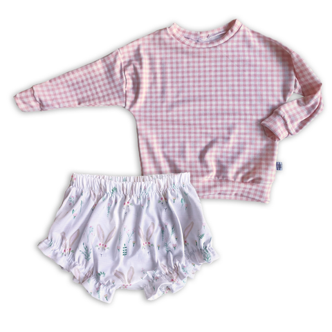 Limited Edition Set- Dolman + Ruffle Shorts