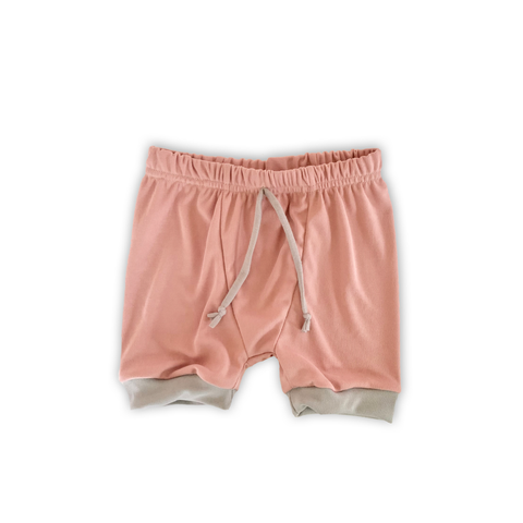 Heirloom Pajama Bottoms in Pink Sand (choice of shorts or pants)