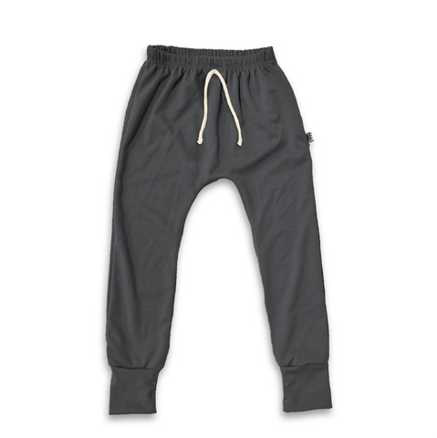 Essential drawstring Joggers in Slate
