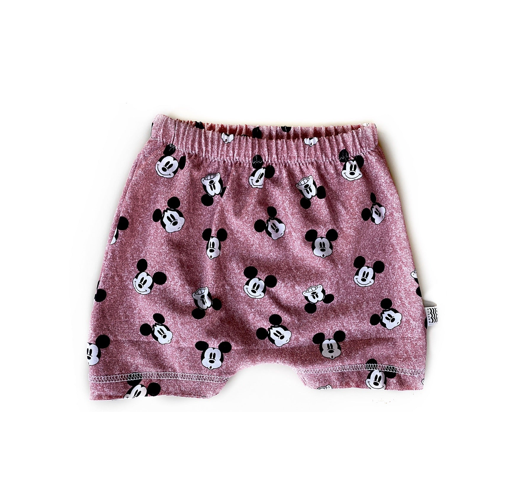 Limited Edition Boy's Crew Shorts in Faces of Mickey